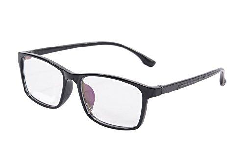 Preisvergleich Produktbild SHINU Frauen-Weinlese-TR90 Computer-Brille Anti Blue Light Augenschutz Brillen SH014 (black)
