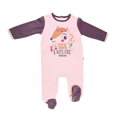2c0ebe01c7999 Pyjama bébé velours rose Noisette - Taille - 36 mois (98 cm)
