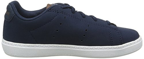 Le Coq Sportif Unisex-Kinder Courtone Ps Craft Sneakers Blau (Dress Blue/MustangDress Blue/Mustang)