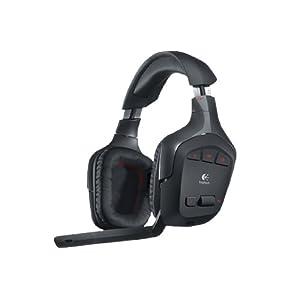 Logitech G930 PC-Gaming Kopfhörer (schnurlos, für PC) schwarz