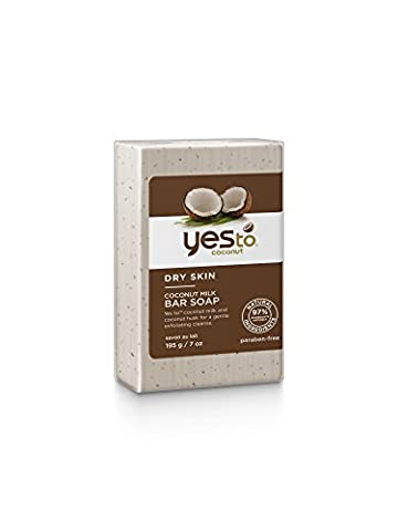 Yes To Coconut Milk Bar Soap, 1er Pack(1 x 195 g) (Bath Soap Bar)