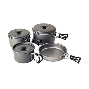 Campingaz Geschirr-Set Eloxiert – Beschichtetes Kochgeschirr