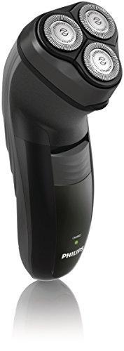 Philips HQ6926/16 - Afeitadora eléctrica recargable y a la red (Vibración, 3 pieza(s), Negro, Batería, 8h, 100-240V)