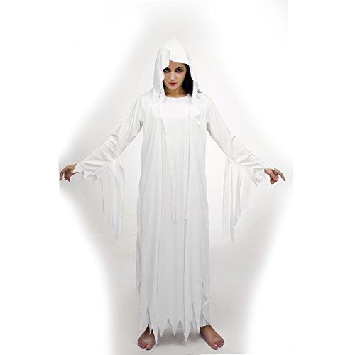 SEA HARE Erwachsenes weißes gespenstisches Geist-Kostüm ()