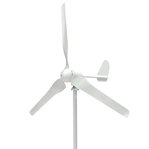 vogvigo 300 W 3 Klingen Wind Turbine Generator Kit, Hybrid Wind Power System für Ladekabel Batterien DC 12 V (keine MPPT) Licht und leistungsstark Wind Turbine für grün Windmühle Home und Business