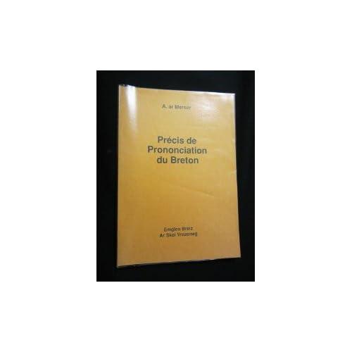 Précis de prononciation du Breton