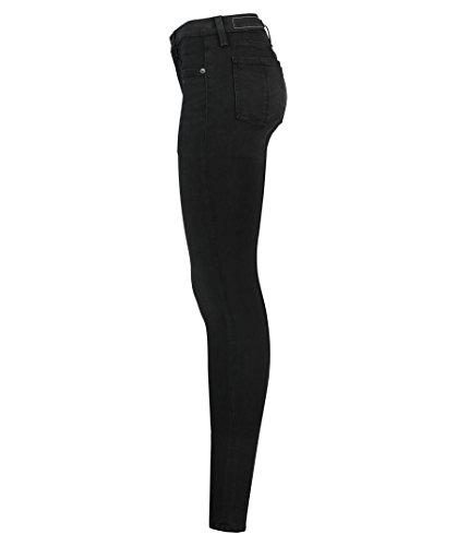 RAG & BONE - JEANS HIGH RISE SKINNY WASHED BLACK Nero
