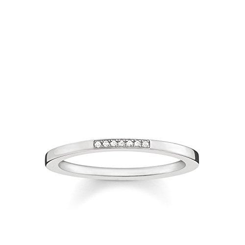 THOMAS SABO Damen Ring 925er Sterlingsilber D_TR0005-725-14