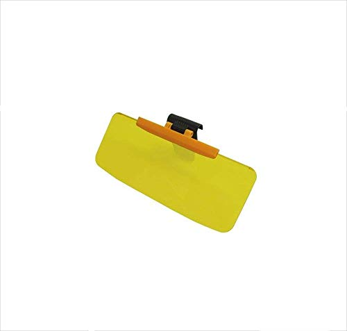 ZHANGCHAO Auto-blendschutz-blendschutzspiegel Auto-blendschutz-Clip-on-Sonnenblende Für Sonnenschirme Geeignet Für Ford-Serie/Benz/BMW Und Alle Autos,Yellow