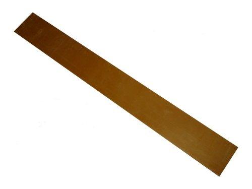 Schürfleiste PUR PU 90 Polyurethan abriebfest Schneeräumleiste für Schneeschild 1250x100x10mm