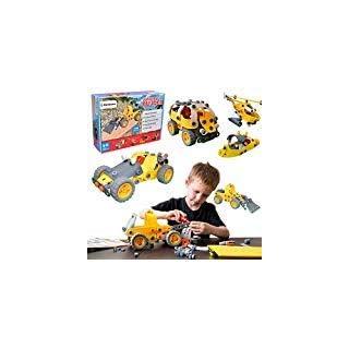 [Bonus Sac] Simbans JB 148 Pcs Ensemble Jouets de Construction Flexible pour 8, 9, 10+ Adolescent Garçons, Filles | STEM DIY Kit Educatif Créatif - Meilleur Cadeau pour Enfants