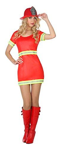 Atosa–7085–Travestimento Pompiere–Donna–Taglia 2