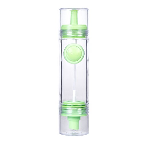 Bestonzon olive oil bottle dispenser dosatore salsa di aceto, oliera da cucina utensili da cucina (verde)