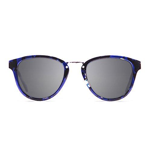 KAU Eyecreators Venecia Sonnenbrille Unisex Erwachsene, schwarz/blau
