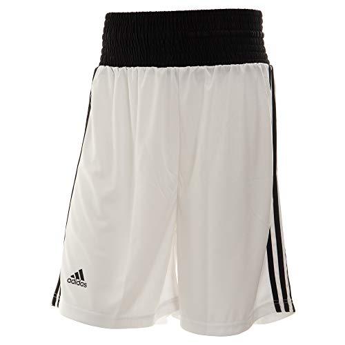 Adidas Base Punch Pantalones de Boxeo, Hombre, Blanco, Medium
