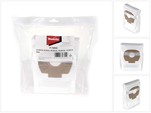 Preisvergleich Produktbild Makita Vlies Filtersäcke Klasse L 5-er Pack für Makita Staubsauger (P-72899)