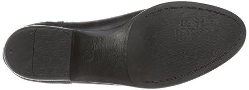 Inuovo Stalker Damen Chelsea Boots Schwarz (BLACK-BLACK ELASTIC)
