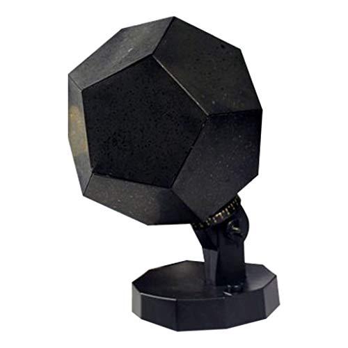 CarJTY ✡✡ Romantischer Planetarium Star Projektor ✡✡ Cosmos Light Nachthimmel Lampe Romantische Beleuchtung für Zuhause (Weiß)