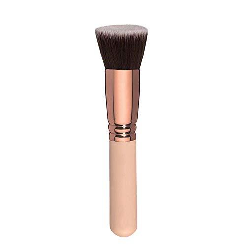 Demarkt Foundation Pinsel Flach Creme Make up Pinsel Kosmetik Gesicht Make up Pinsel Puder Pinsel - Mineral Foundation Pinsel