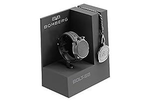 Reloj Bomberg BS45CHPBA.012.3 línea Bolt68 - Swiss Made - 45mm - Convertible en reloj de bolsillo de Bomberg