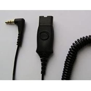 Plantronics 3 5 Mm Patch Cable For H Series Headset