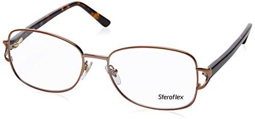 STEROFLEX Brillengestell SF 2572 488 Kupfer 54MM