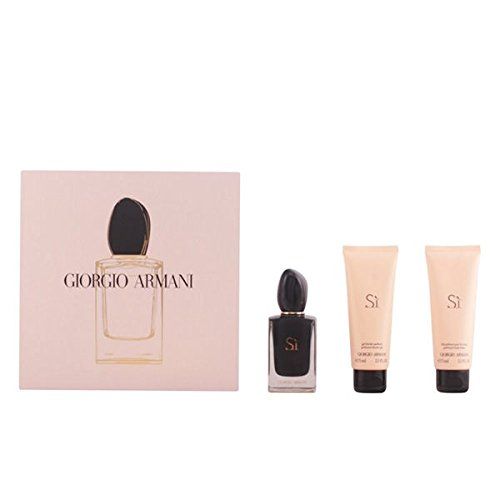 Giorgio Armani Si Intense Gift Set 50ml EDP + 75ml Shower Gel + 75ml Body Lotion