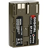 Batterie Compatible CANON BP-511, 7.4V , 1500mAh , Li-ion