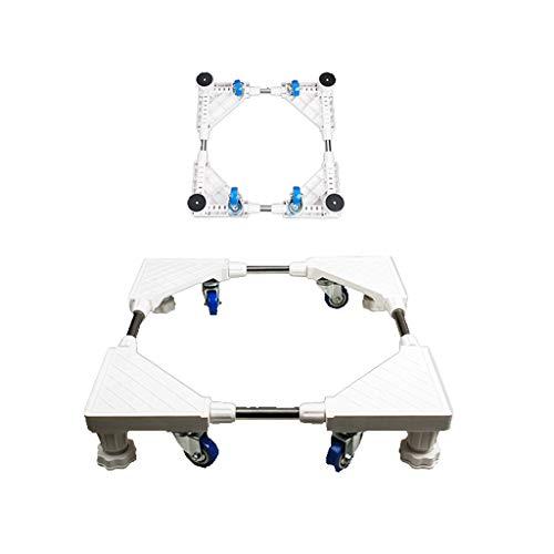JXXDDQ Waschmaschine Grundhalterung Roller Pad High Automatic Frame Universal-Kühlschrankhalterung - Frame Stehen