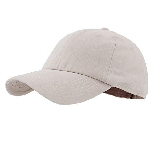 Gisdanchz Sommer Baseballcap Golf Männer Baseballkappe Damen Mütze Kappe Base Cap Men Dad Hat Women Polo Hats Basecap Baseball Cap Herren Profile Design Beige Baseball-cap