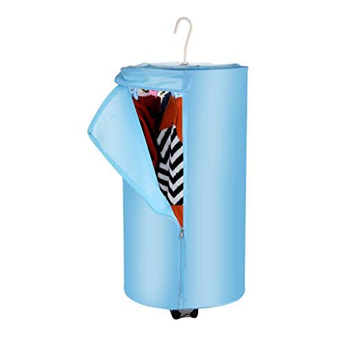 Asciugatrice Armadio pieghevole per disinfezione portatile da 380W, adatto per dormitori, viaggi, studenti, ufficio affari, con riscaldatore per aromaterapia