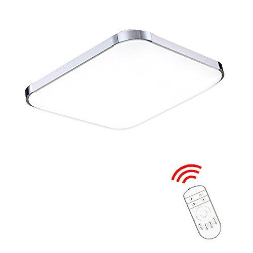 VINGO® 36W Moderne dimmbar LED Deckenlampe Deckenleuchte mit Fernbedienung Flur Schlafzimmer Lampe