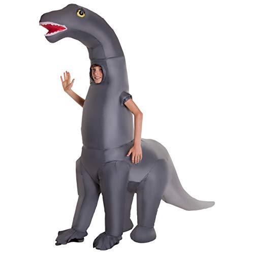 Morph MCKGIDI Aufblasbares Kostüm, Unisex, Diplodocus Dinosaurier Kinder, Einheitsgröße