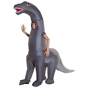 MORPH gonflable Disfraz Color Diplodocus dinosaure Enfants Talla única MCKGIDI