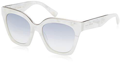 Marc Jacobs Damen MARC 162/S IC 2M1 52 Sonnenbrille, Weiß (Wht Mpearl/Gry Grey),