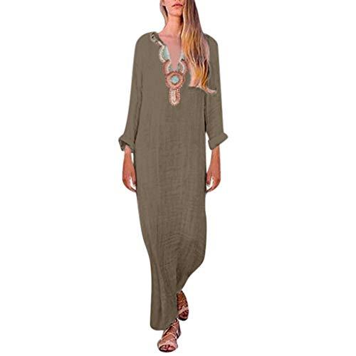 AIni Mujer Verano De Playa Vestido Estampado Vestido