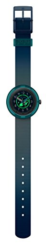 Flik Flak Unisex Kinder Analog Quarz Uhr mit Stoff Armband FPNP025 - 2