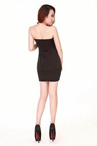 sexylady - Robe -  Femme taille unique Noir - Noir