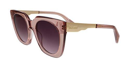 Just Cavalli Damen JC753S 72Z 51 Sonnenbrille, Pink (Rosa Luc/Viola Grad e/o Specchiato),