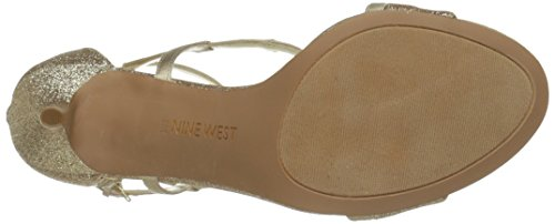 Nine West Guppy Synthetik Sandale Go/Lt Go v1BdN