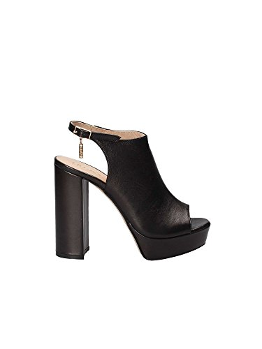 LIU JO SANDALO CHIUSO S17061 P0062 sandalo donna con tacco, Nero, EUR 36