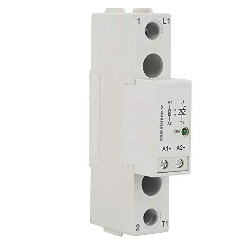 Famus SMT48 Din Rail Halbleiterrelaisplatine DC-Steuerung AC SSR Relay Switch Module(SMT4840) Dtmf Tone Decoder
