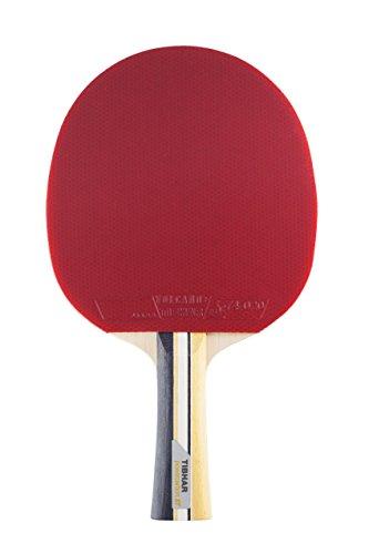 Tibhar Tischtennisschläger Powercarbon XT neu - Allround- und Offensiv TT-Schläger mit ITTF Wettkampfzulassung - gelb