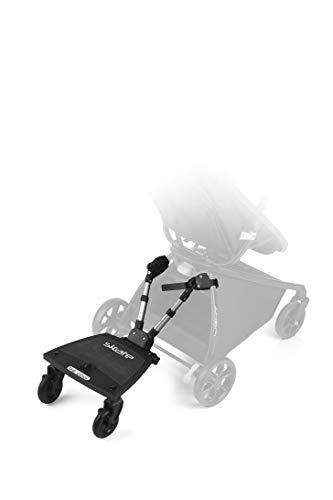 Be Cool 502 Skate Patinete universal  para coche de paseo, Negro