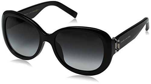 Marc Jacobs Damen MARC 111/S 9O 807 56 Sonnenbrille, Black/Dark Grey Sf,
