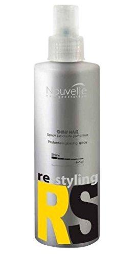 Nouvelle Shiny Hair 1x 250ml per capelli Gloss Philosophy lucida Spray Re (Gloss Spray)
