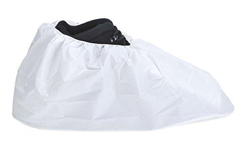 Portwest st48whr Copri calzare anti tobogán, Paquete de 200pares, blanco,
