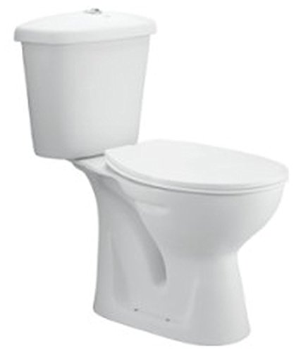 Cera CALLAGHAN 3100 Callaghan 3100 Ewc Two Piece Water Closet (White , Two Pieces)