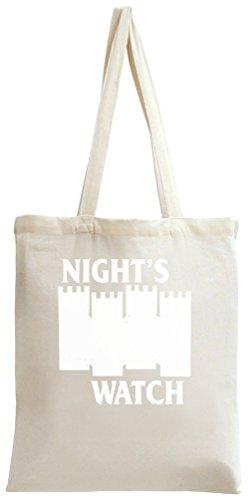 Castle Black Nights Watch Tote Bag