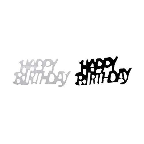 gzzebo 1 Tüte Happy Birthday Konfetti Party Dekoration